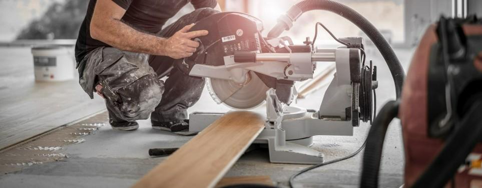 Handwerker-Arbeiten können zu einer Steuerermäßigung führen, falls sie in der Wohnung stattfinden.