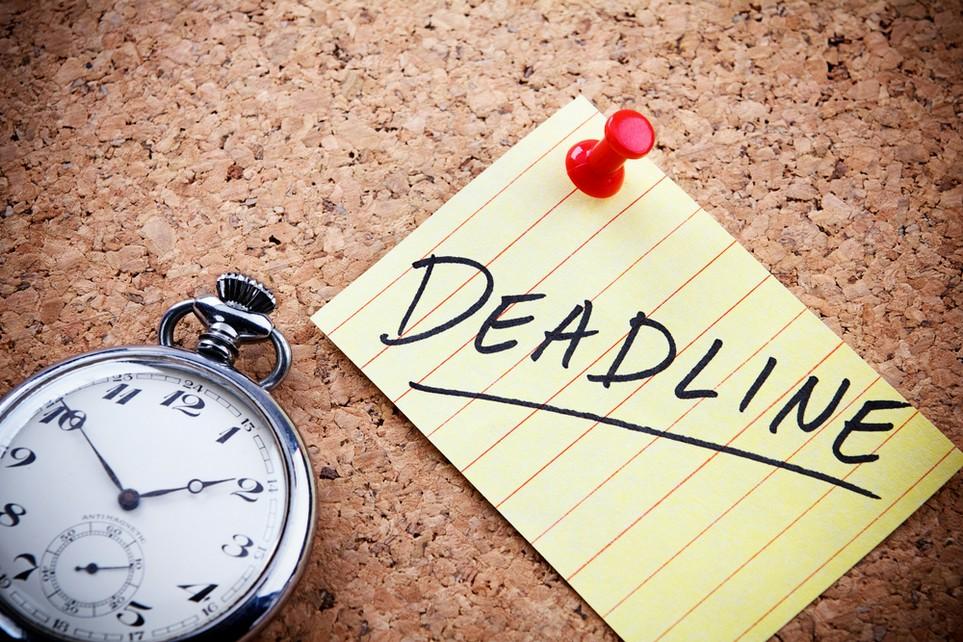 Für Pflichtveranlagte gilt eine strenge Deadline.