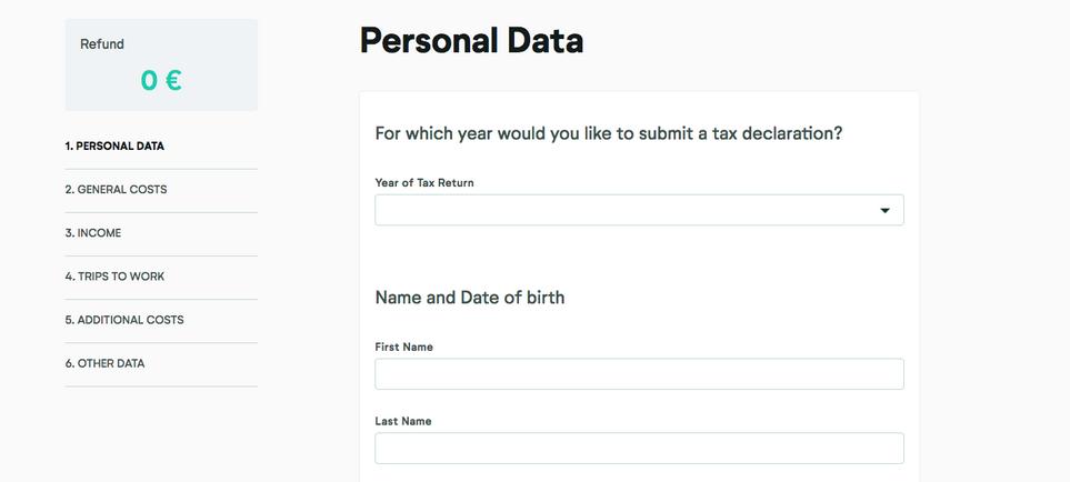 Personal Data Bildschirmfoto 2018-01-15 um 15.04.02