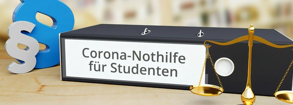 Corona, Hilfe, Corona-Studenten-Nothilfe, Student, Studentenwerk
