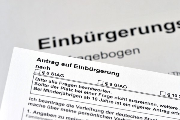 Can the costs of naturalization be deducted for tax purposes? (Einbürgerung)